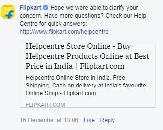 Flipkart closing the loop