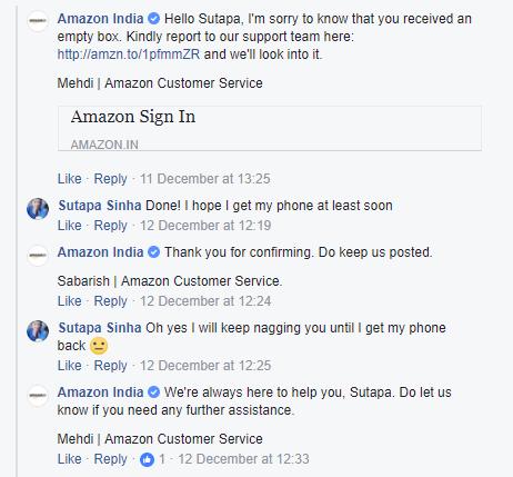 Amazon closing the loop